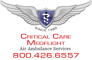 Critical Care Med Flight Mobile Logo